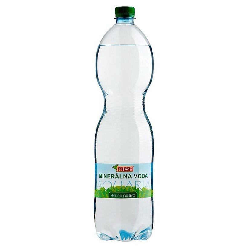 Fresh Minerálna voda jemne perlivá 1,5 l