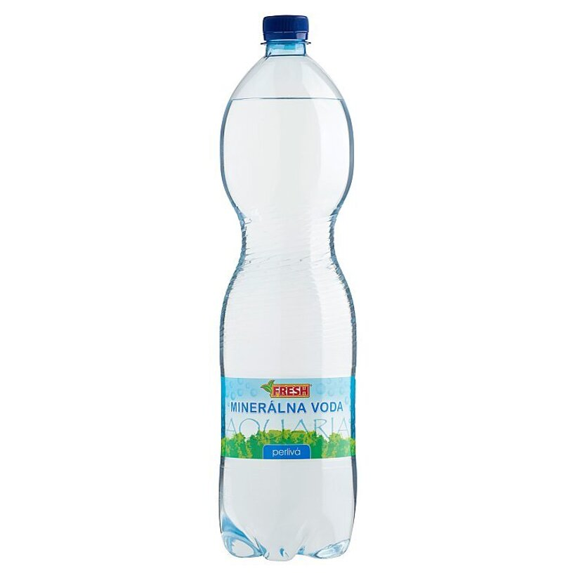 Fresh Minerálna voda perlivá 1,5 l