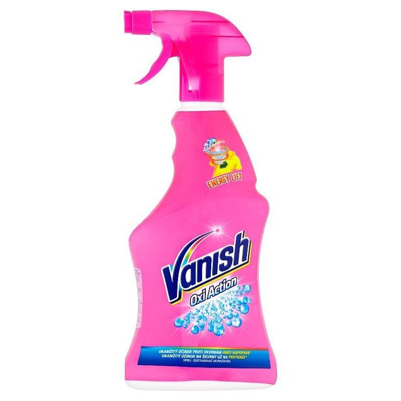 Vanish Oxi Action Odstraňovač škvŕn sprej 500 ml