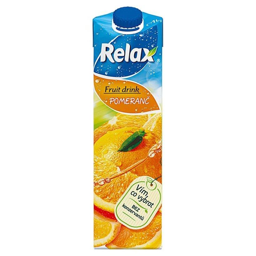 Relax Fruit Drink pomaranč 1 l