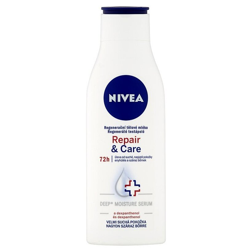Nivea Repair & Care Regeneračné telové mlieko 250 ml