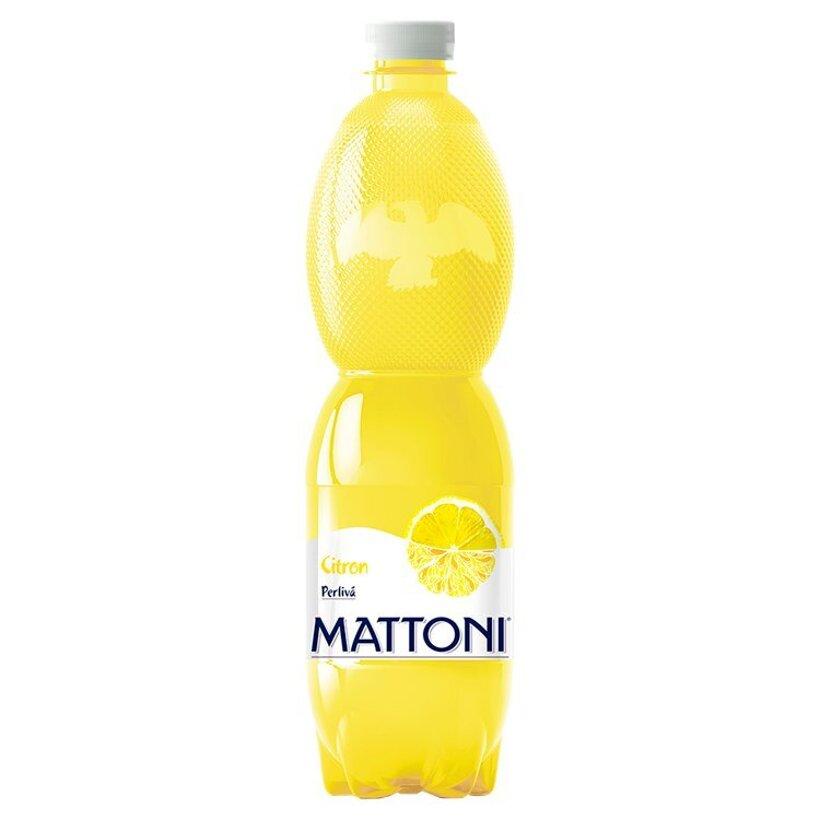 Mattoni Citrón perlivá 0,75 l
