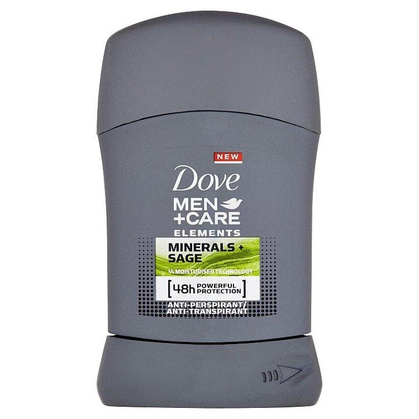 Dove Men+Care Elements tuhý antiperspirant pre mužov 50 ml