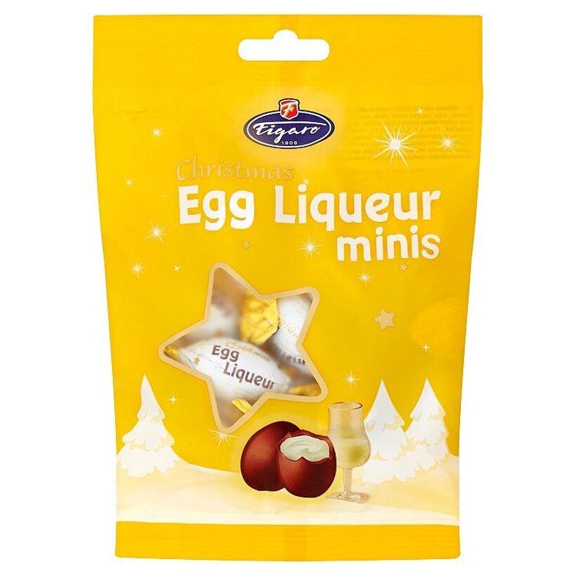 Figaro Mliečna čokoláda s vaječnou alkoholovou náplňou 110 g