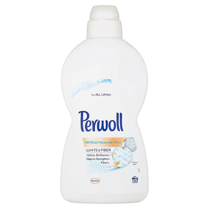 Perwoll renew Advanced Effect White & Fiber 30 praní 1,8 l