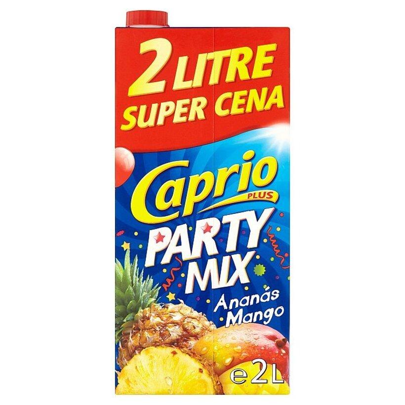 Caprio Plus Party Mix ananás mango 2 l