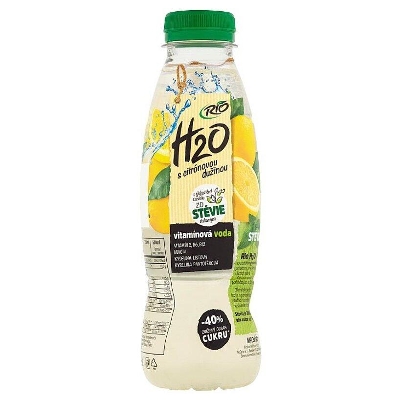 Rio H2O Pramenitá voda s citrónovou dužinou 500 ml