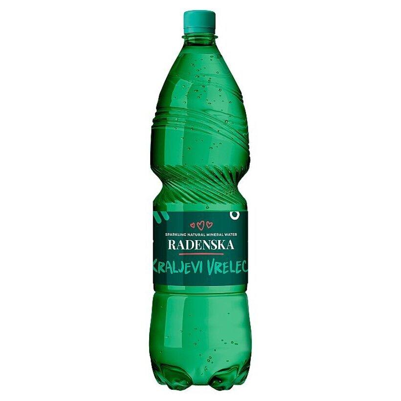 Radenska Kraljevi Vrelec prírodná minerálna voda 1,5 l