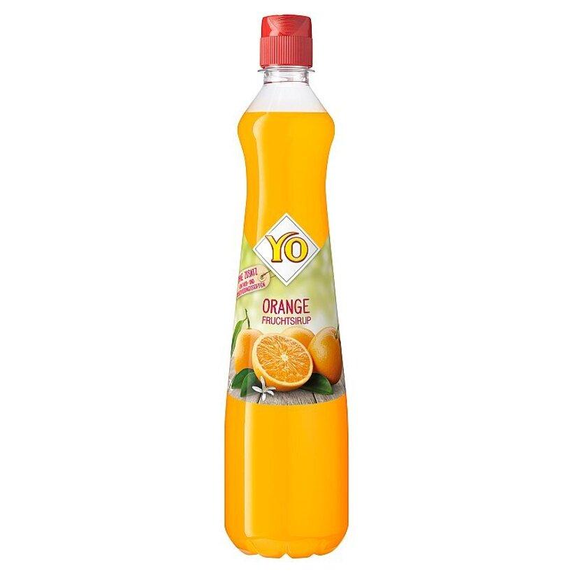 YO Ovocný sirup z pomaranča 0,7 l