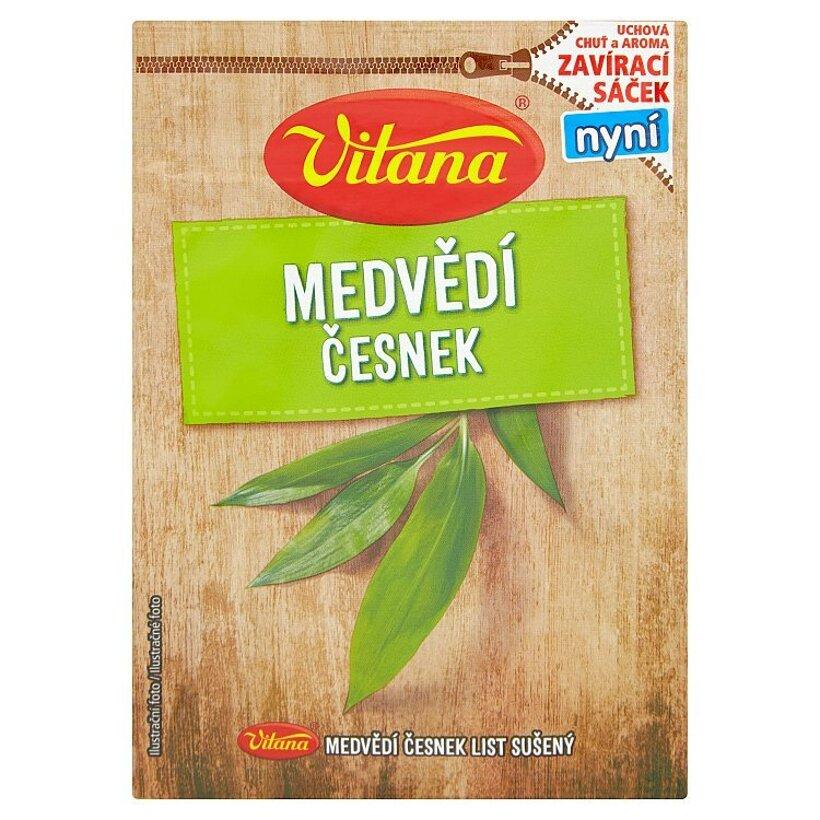 Vitana Medvedí cesnak sušený list 4 g