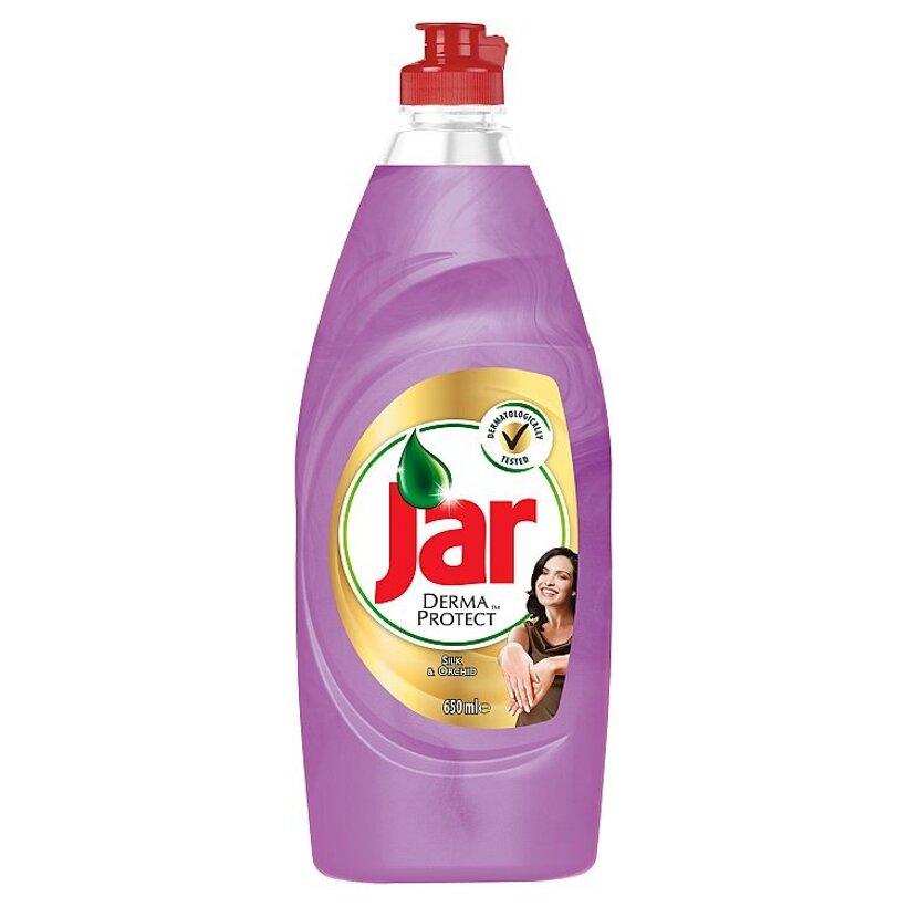 Jar Dermaprotect Silk & Orchid prostriedok na umývanie riadu 650 ml