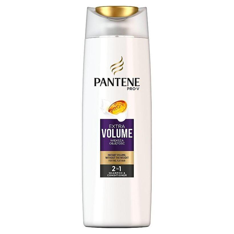 Pantene Pro-V Extra Volume Šampón ABalzam 2v1 Na Jemné, Spľasnuté Vlasy 400 Ml