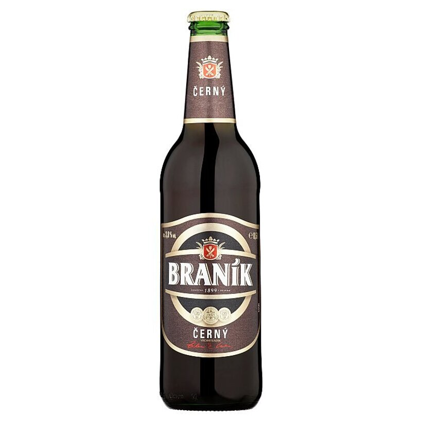 Braník Pivo výčapné tmavé 0,5 l