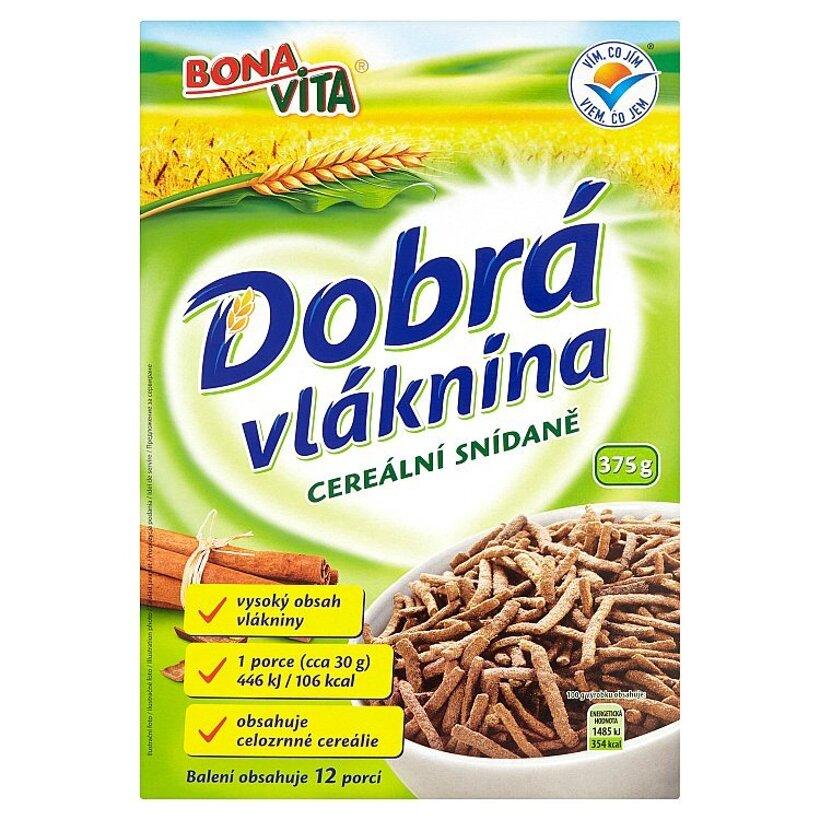 Bona Vita Dobrá vláknina - cereálne raňajky 375 g