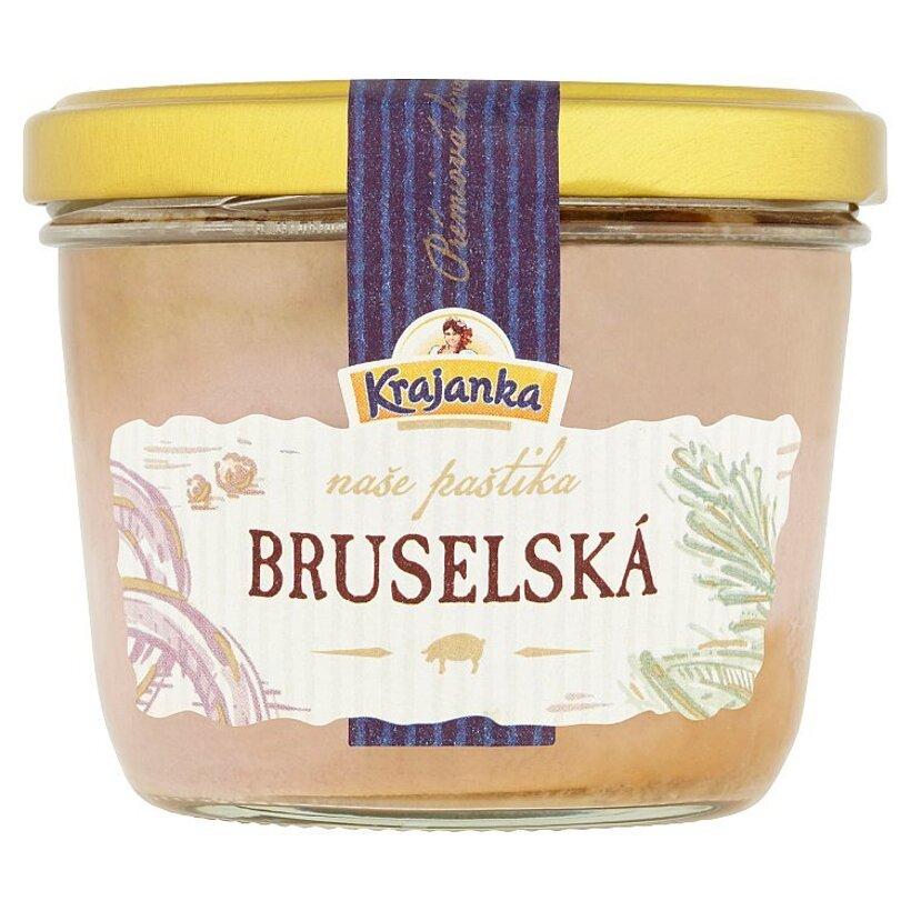 Krajanka Bruselská paštéta so smotanou 170 g