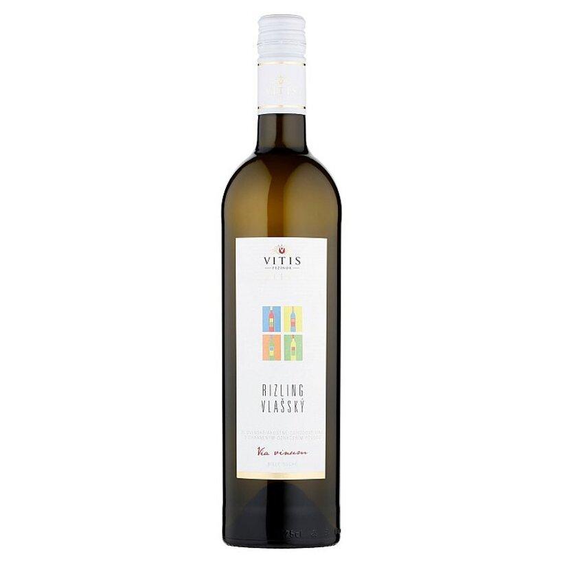Vitis Pezinok Galéria Rizling vlašský akostné odrodové víno biele suché 0,75 l