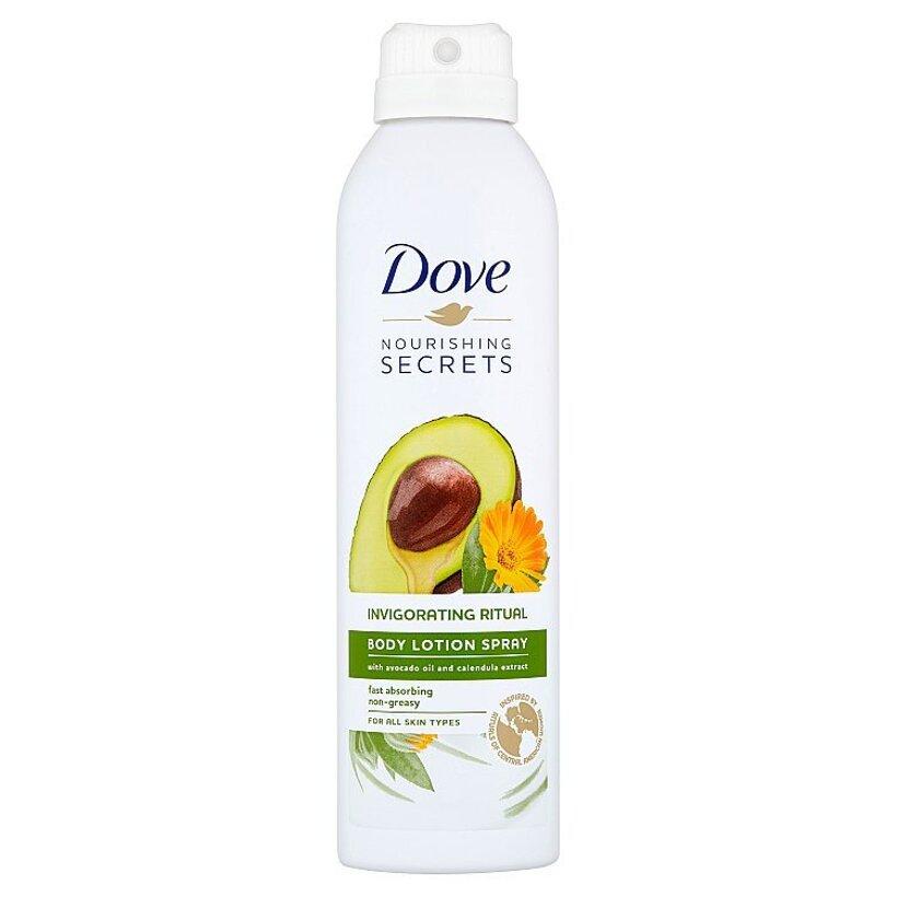 Dove Nourishing Secrets Invigorating Ritual telové mlieko v spreji 190 ml