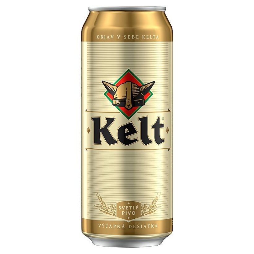 Kelt Svetlé výčapné pivo 10% 500ml