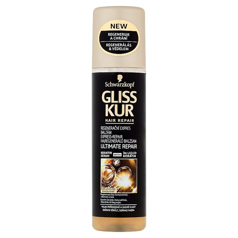 Gliss Kur kondicionér Ultimate Repair Express Repair 200 ml