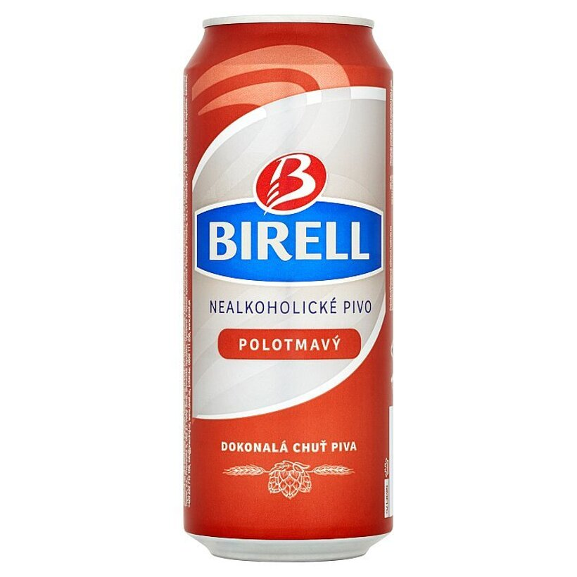 Birell Polotmavý nealkoholické pivo 0,5 l