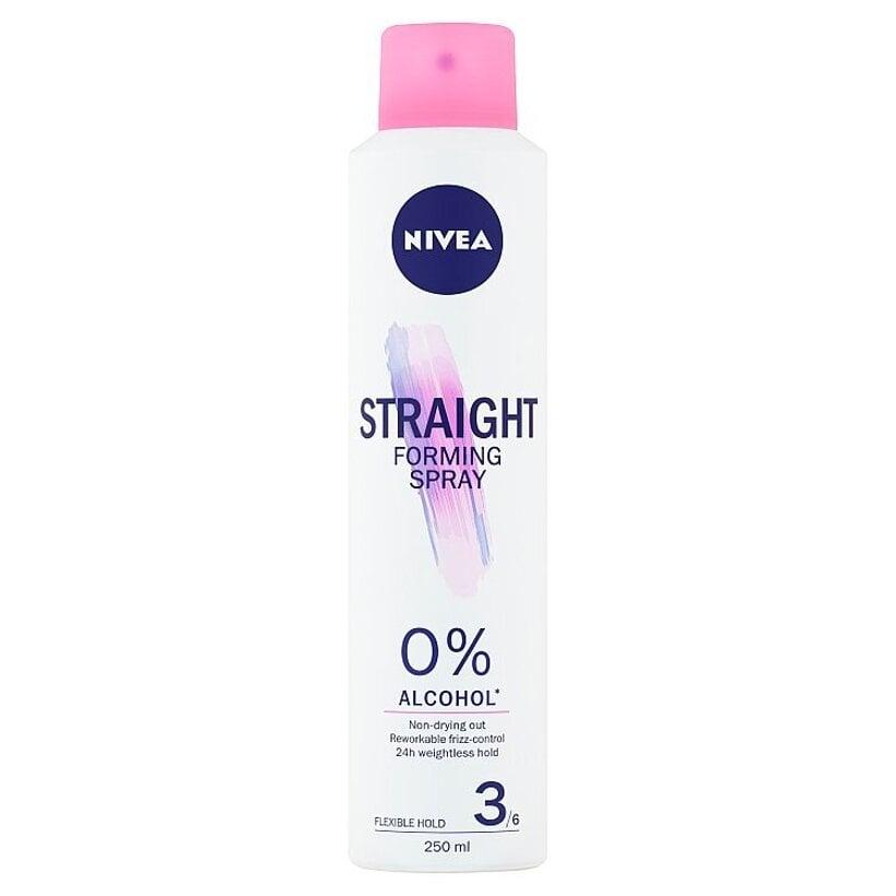Nivea Straight Tvarovací sprej na vlasy 250 ml
