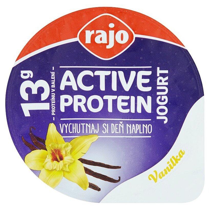 Rajo Active Protein Jogurt vanilka 180 g