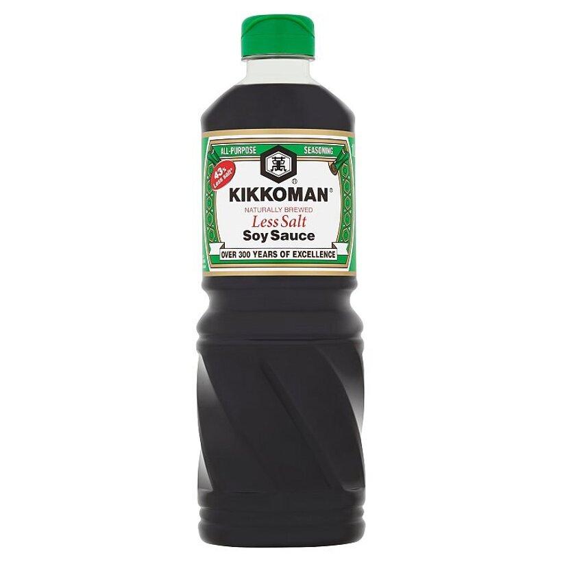 Kikkoman Sójová omáčka so zníženým obsahom soli 1 l