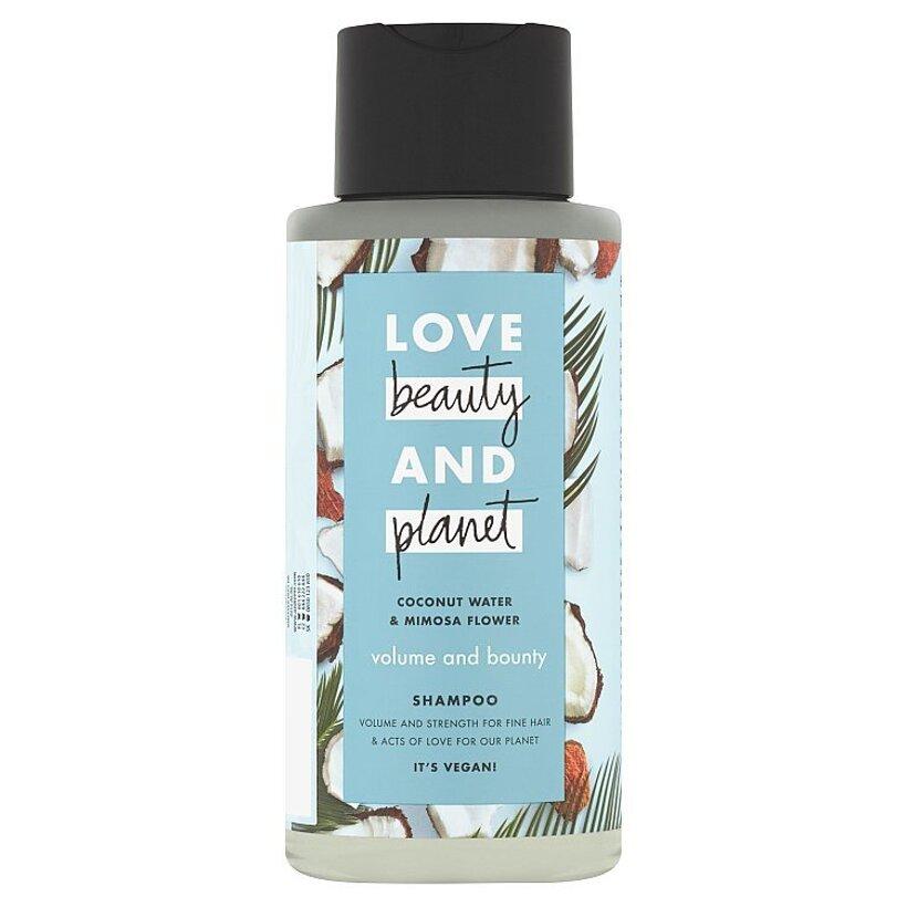 Love Beauty and Planet Volume and Bounty šampón na vlasy 400 ml