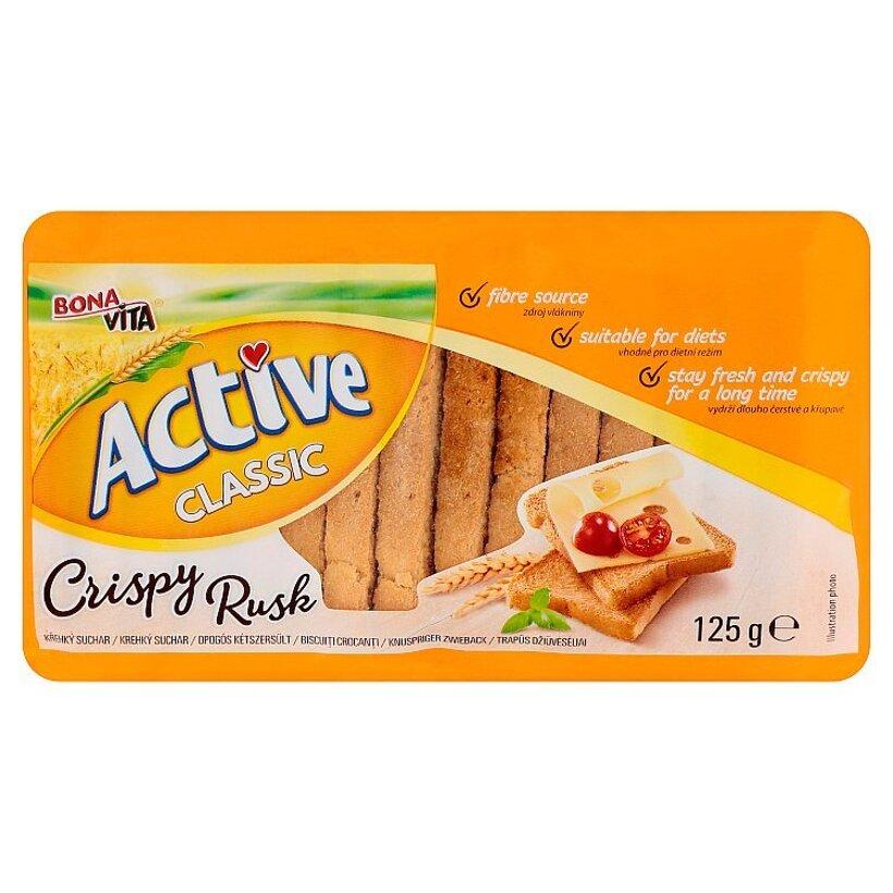 Bona Vita Active Pšeničné sucháre 125 g
