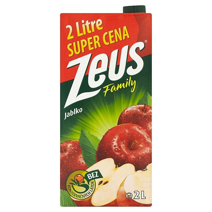 Zeus Family Jablko 2 l