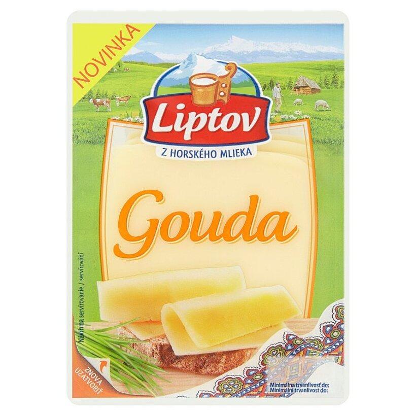 Liptov Gouda - porciované plátky 100 g