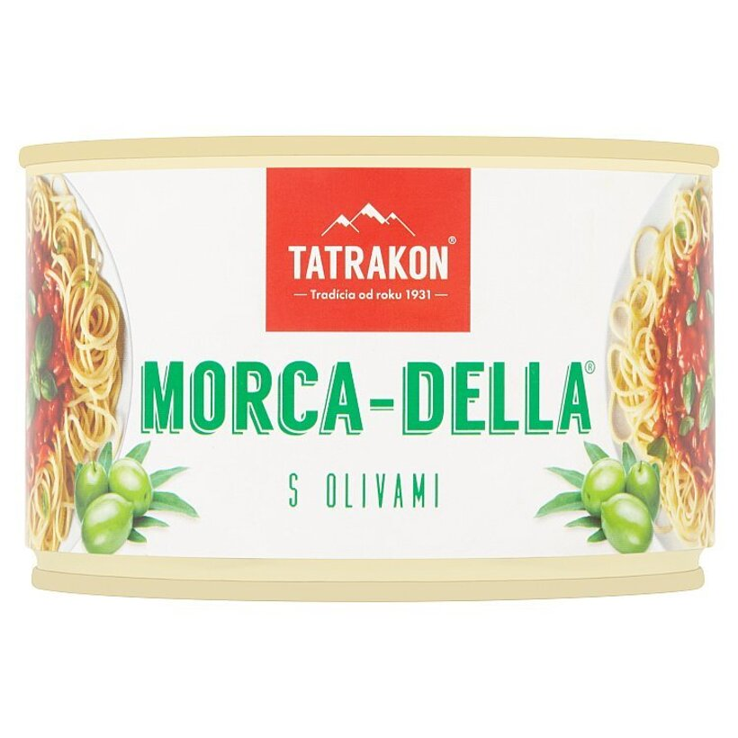 Tatrakon Morca-Della Omáčka na špagety s olivami 400 g