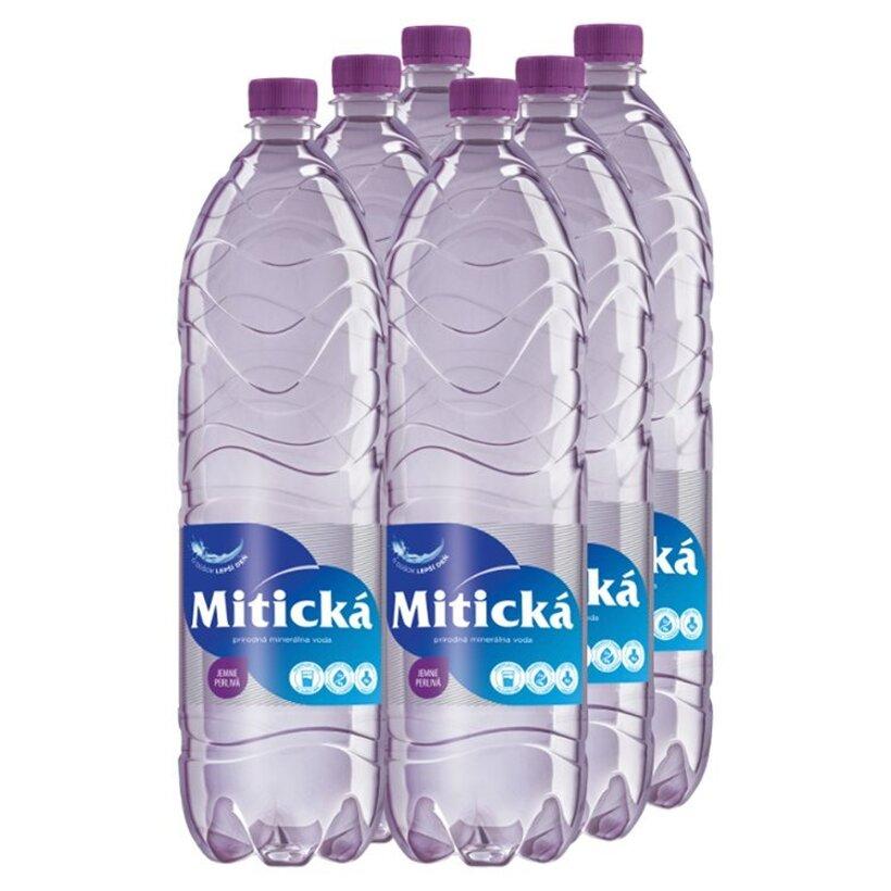 Mitická Prírodná minerálna voda jemne perlivá 6 x 1,5 l