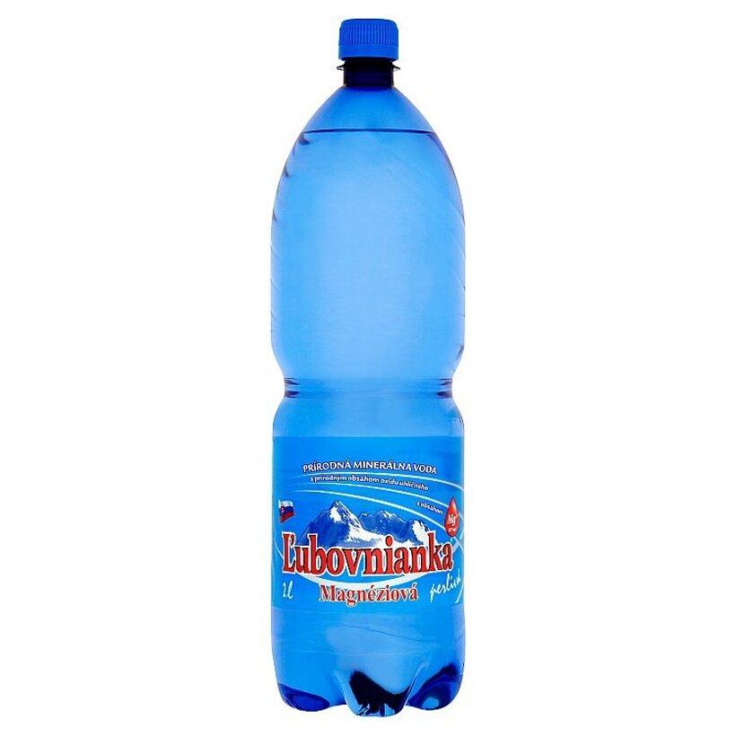 Ľubovnianka Magnéziová prírodná minerálna voda perlivá 2 l