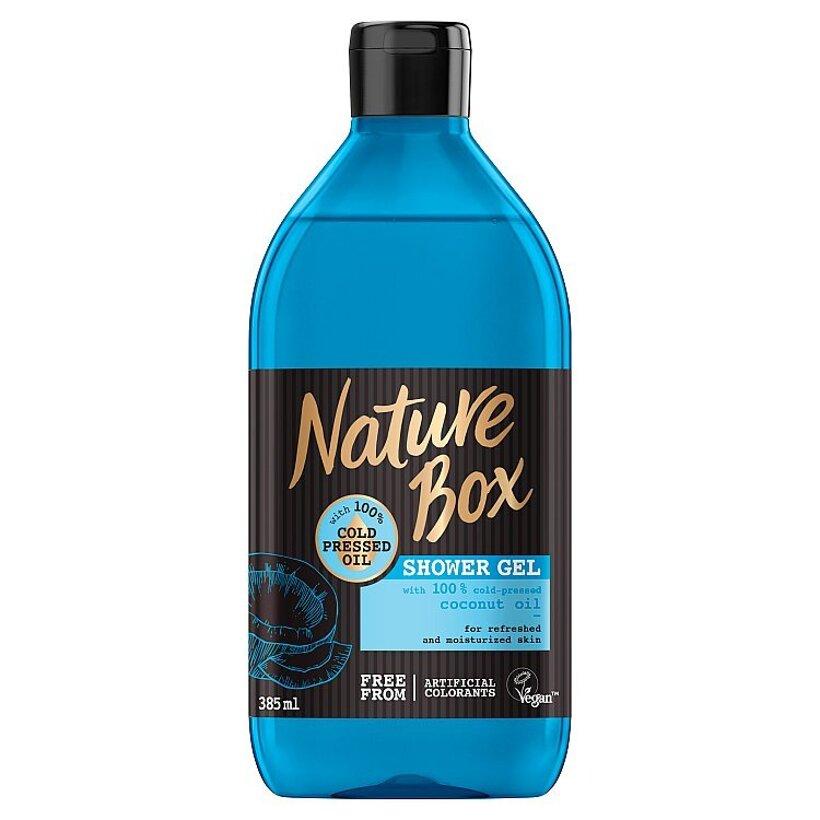 Nature Box sprchovací gél Coconut Oil 385 ml