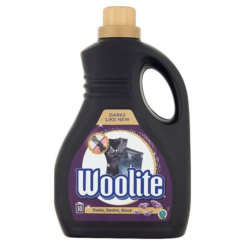 Woolite Darks, Denim, Black tekutý prací prípravok 30 praní 1,8 l