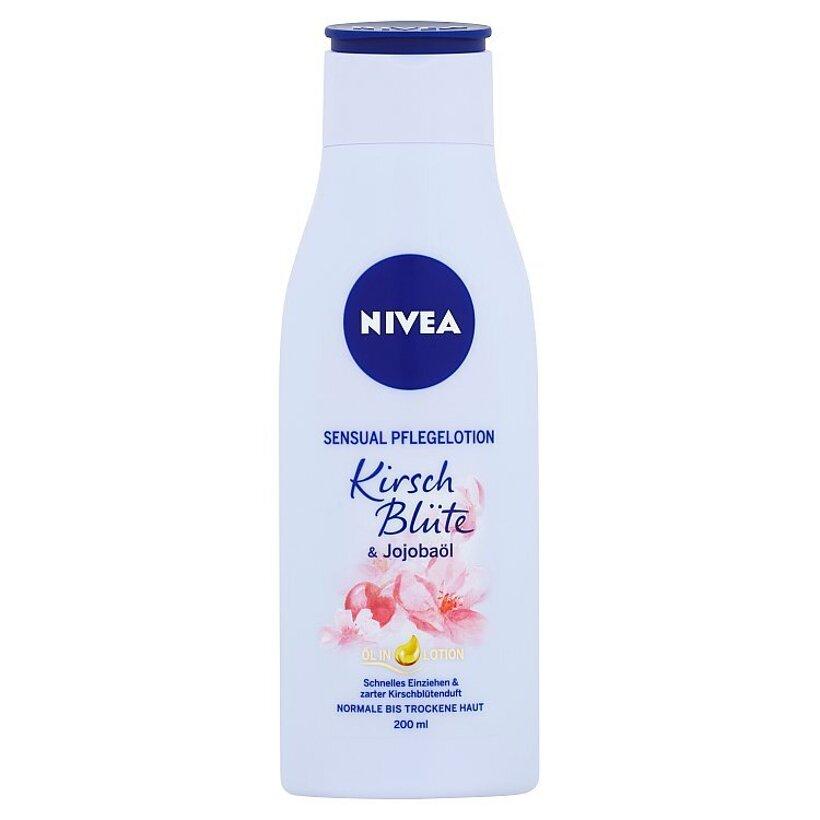 Nivea Telové mlieko s olejom čerešňový kvet & jojobový olej 200 ml