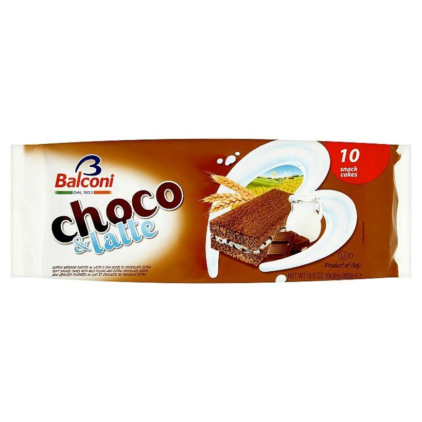 Balconi Choco & Latte 10 x 30 g