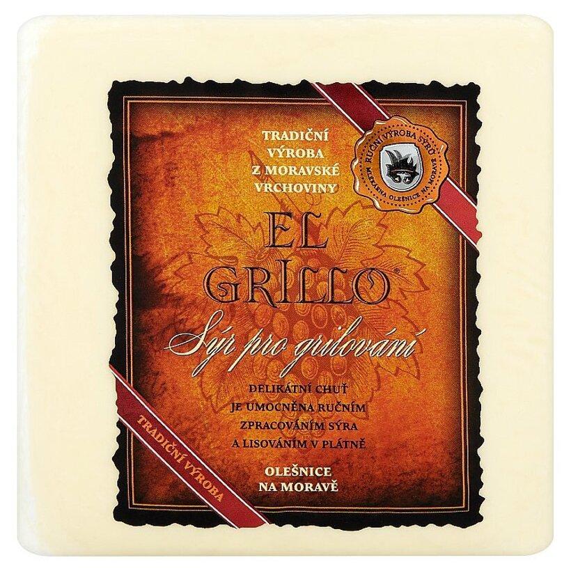 Mlékárna Olešnice El grillo polomäkký čerstvý stredne tučný slaný syr 480 g
