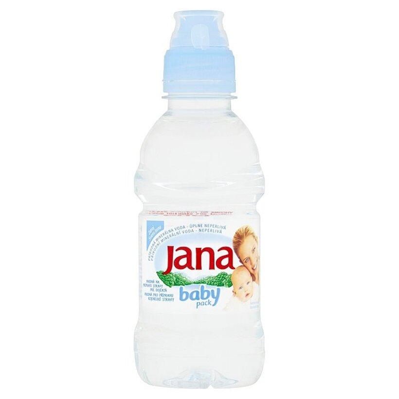 Jana Baby prírodná minerálna voda úplne neperlivá 250 ml
