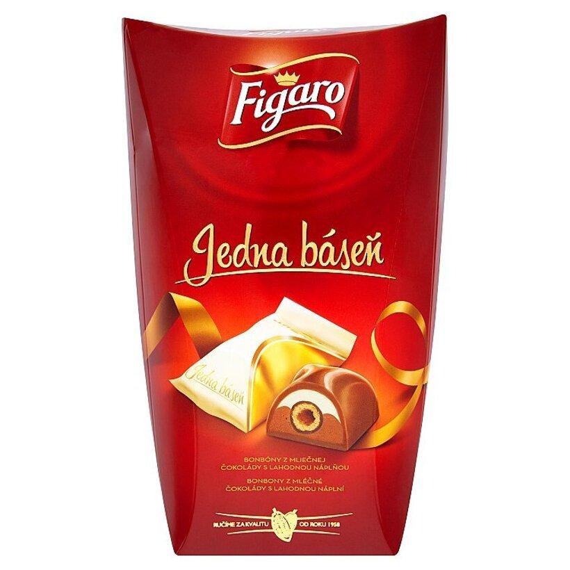 Figaro Jedna báseň bonbóny z mliečnej čokolády s lahodnou náplňou 200 g