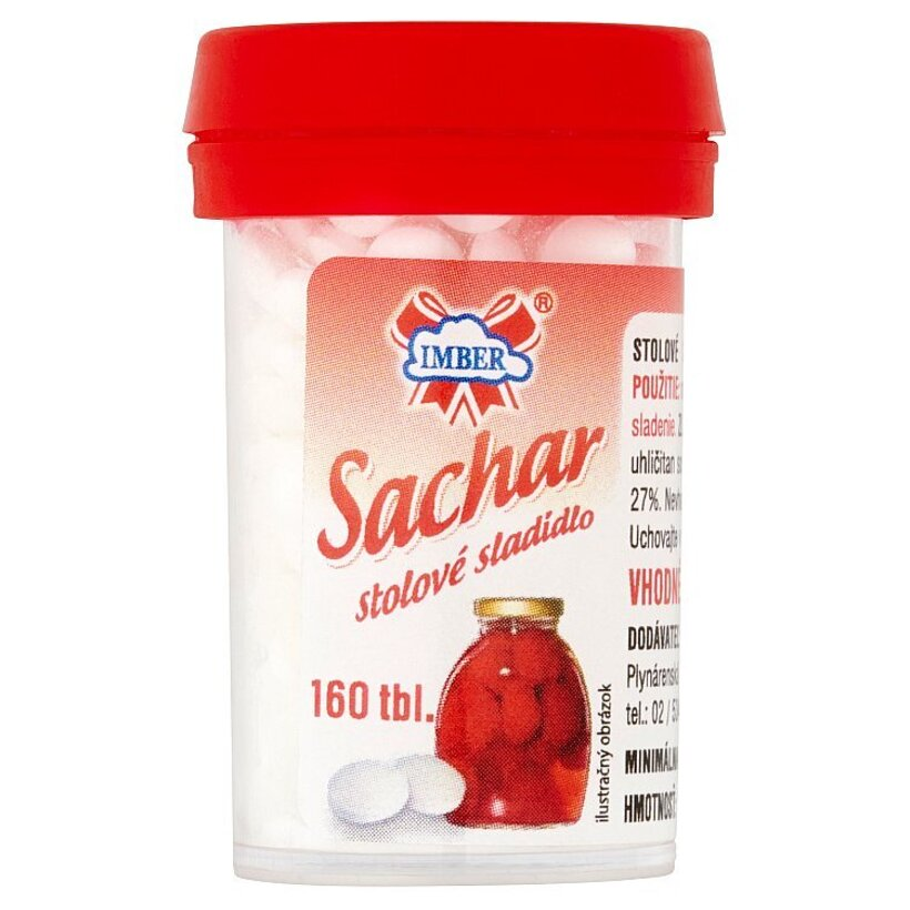 Imber Sachar stolové sladidlo 160 tbl 10 g