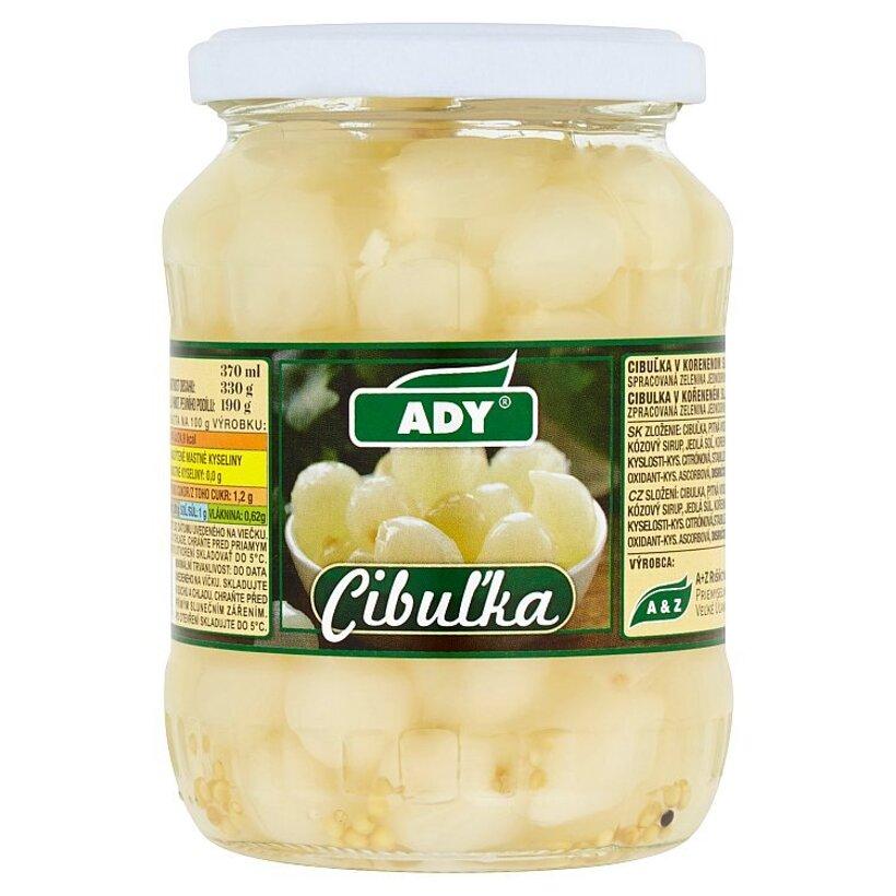 Ady Cibuľka v korenenom sladkokyslom náleve 330 g