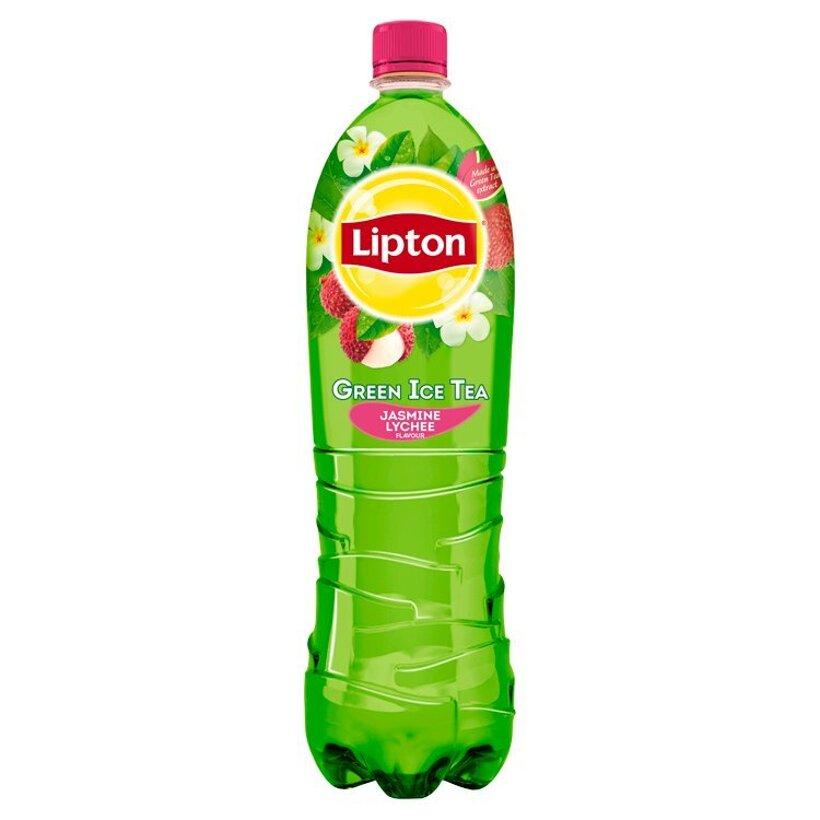 Lipton Ľadový čaj zelený s príchuťou jazmínu a liči 1,5 l