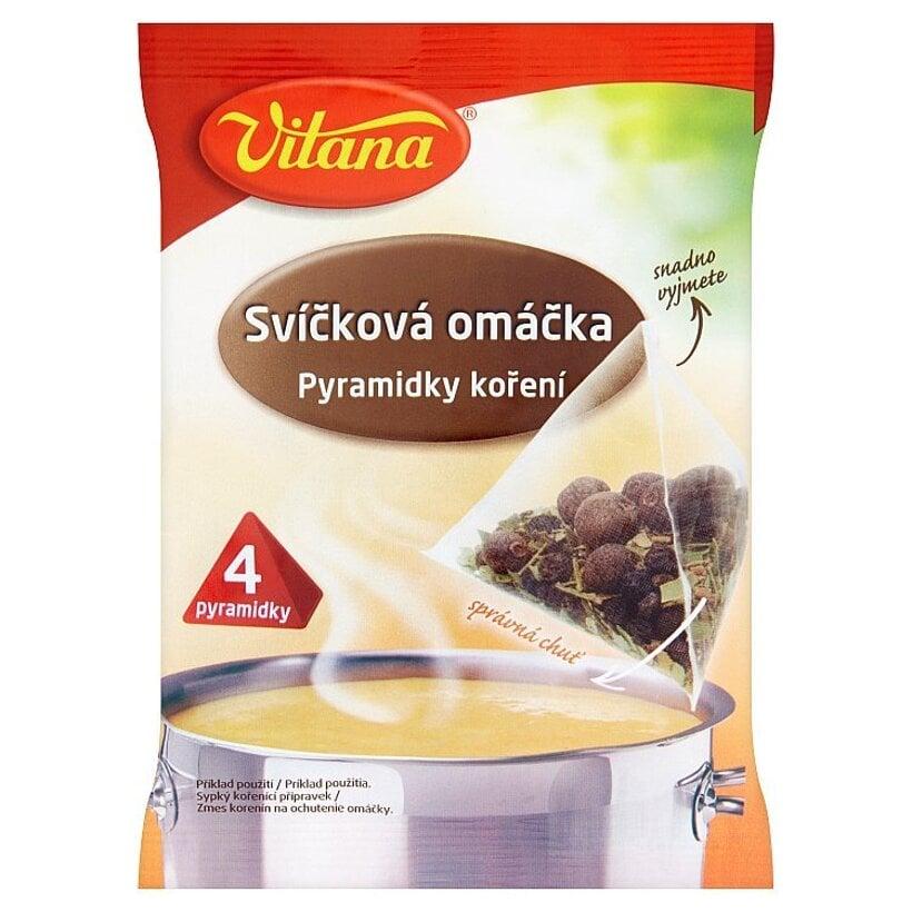 Vitana Sviečková omáčka pyramídky korenia 4 x 5 g