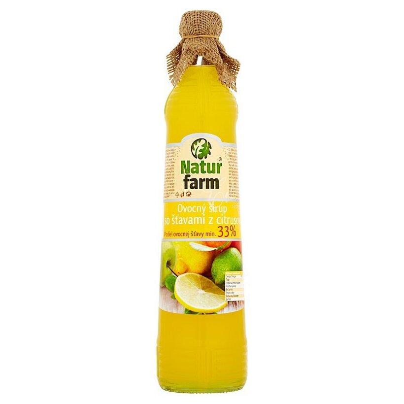 Natur Farm Ovocný sirup so šťavami z citrusov 0,7 l