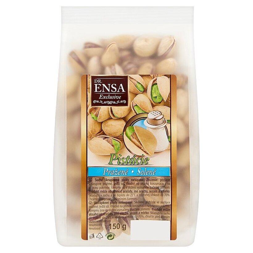 Dr. Ensa Exclusive Pistácie pražené solené 150 g