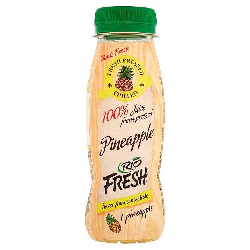RIO FRESH 100% ananásová šťava priamo lisovaná za studena 180 ml