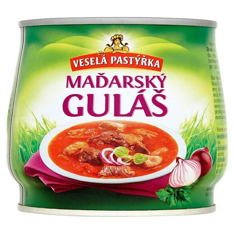 Veselá Pastýřka Maďarský guláš 420 g
