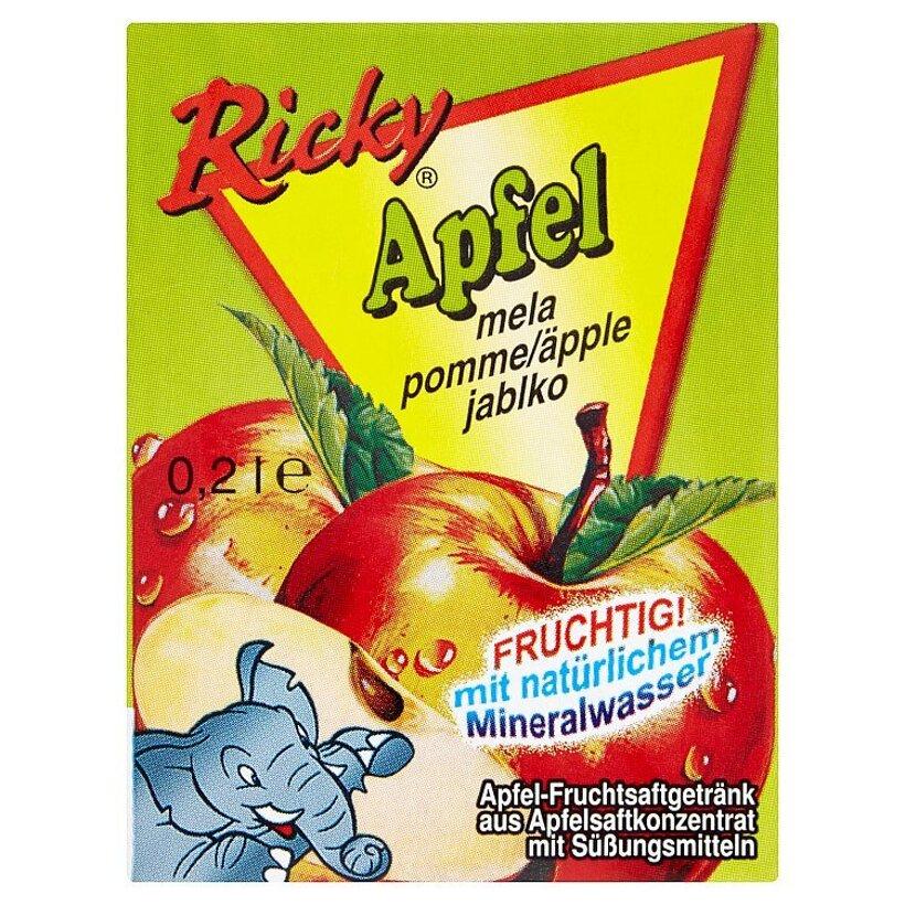 Ricky Jablčný nápoj 0,2 l